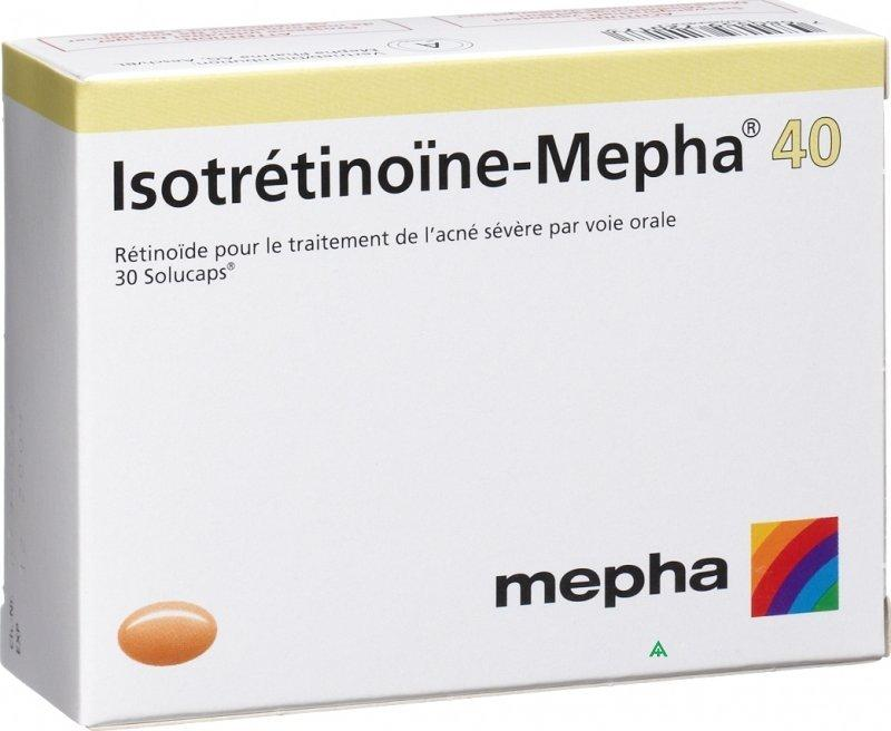 Isotretinoin-Mepha by Mepha Pharma