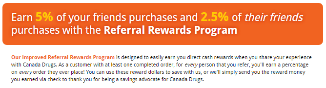 Canadapharmacytrust.net Referral Bonuses
