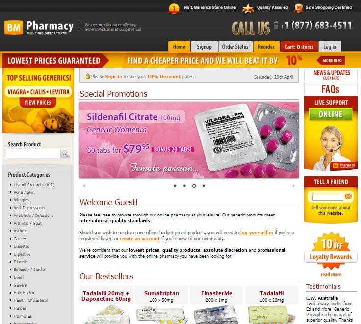 Bmpharmacy.com
