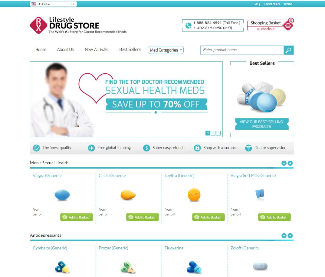 Bestrxgenerics.com Main Page