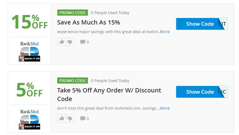 Kwikmed.com Promo Codes