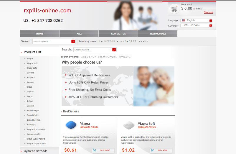 Rxpills-online.com Main Page