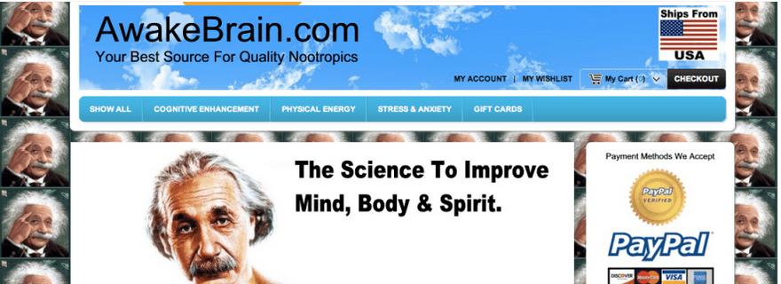 Awakebrain.com Main Page