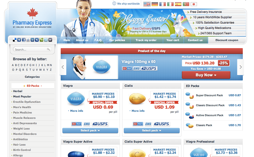 Pharmacyseller365.com Main Page