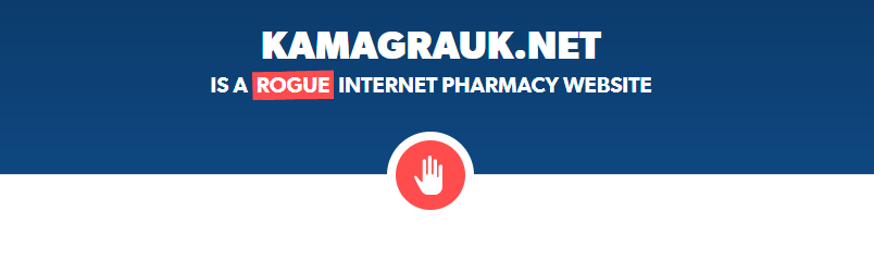 Kamagrauk.net is a Rogue Website