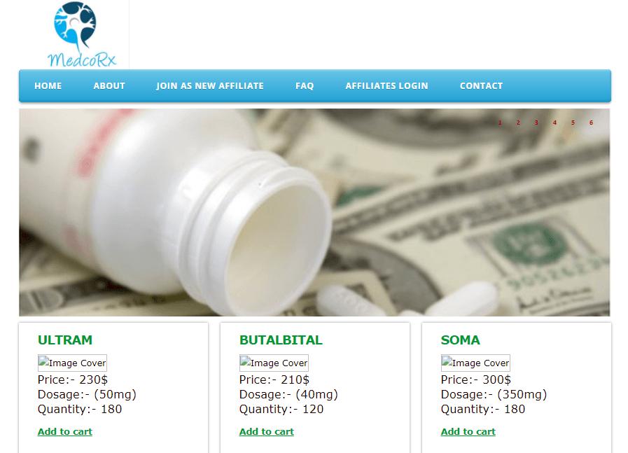 Medco-rx.com Main Page