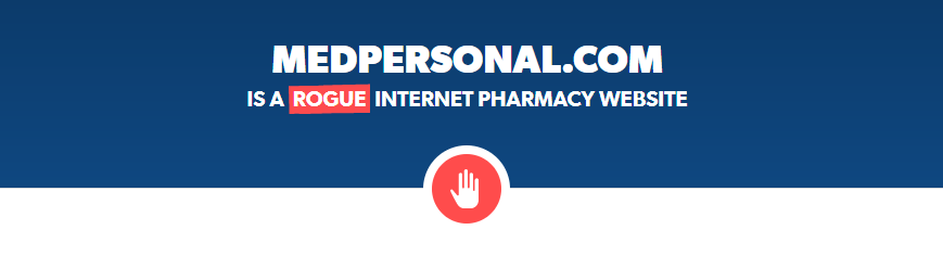 Medpersonal.com is a Rogue Website
