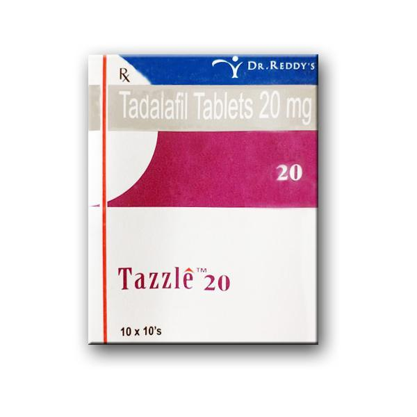 Tazzle 20mg Pack