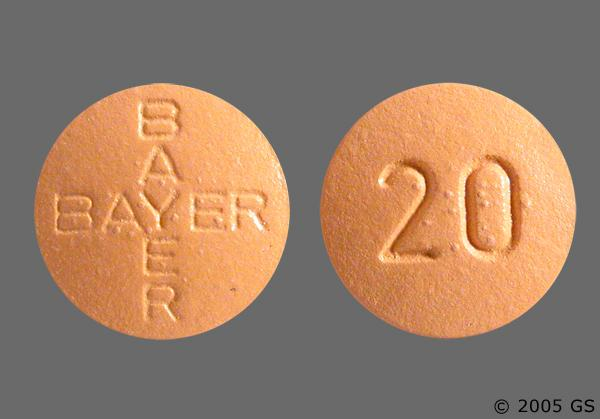 Vardenafil Bayer 20mg Pill