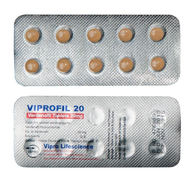 Viprofil 20 mg Blister
