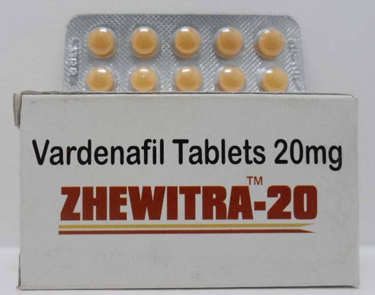 Zhewitra 20mg Tablets Pack