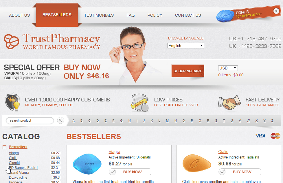 Good Pills Website Look