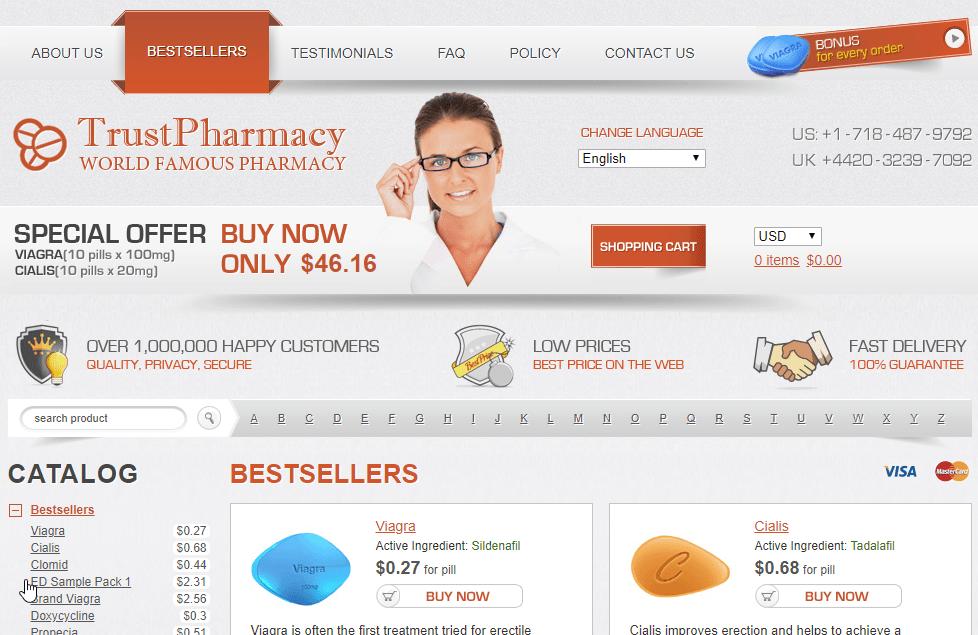 Good Pills Website Look
