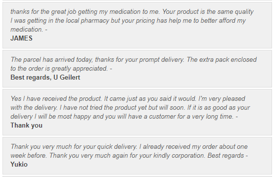 Trusted Tablets User Testimonials