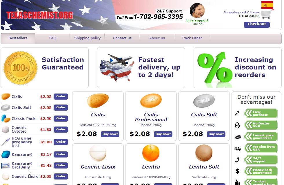 Texaschemist Main Page