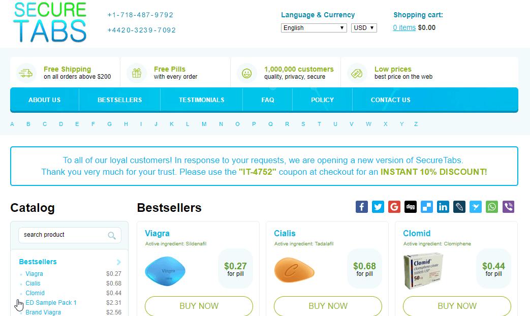 Mysecuretabs Main Page